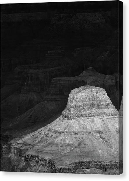 Dark Grand Canyon Canvas Print