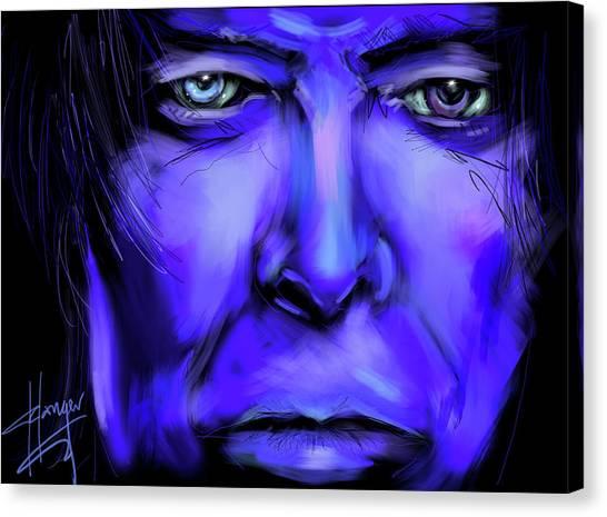 David Bluey Canvas Print