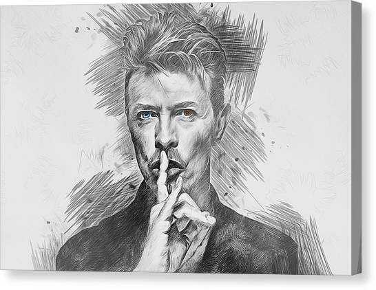 David Bowie. Canvas Print