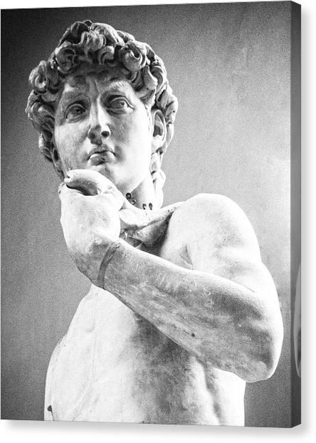 David Of Michelangelo Canvas Print