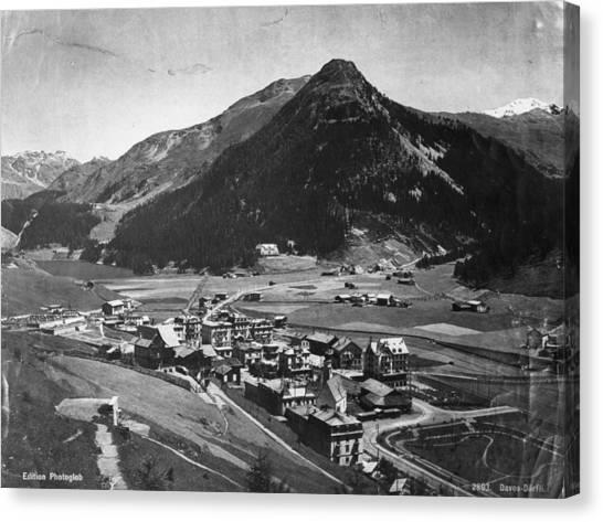 Davos Canvas Print by Hulton Archive