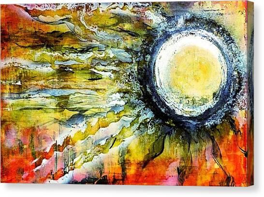 Dawn Of A New Sun Canvas Print