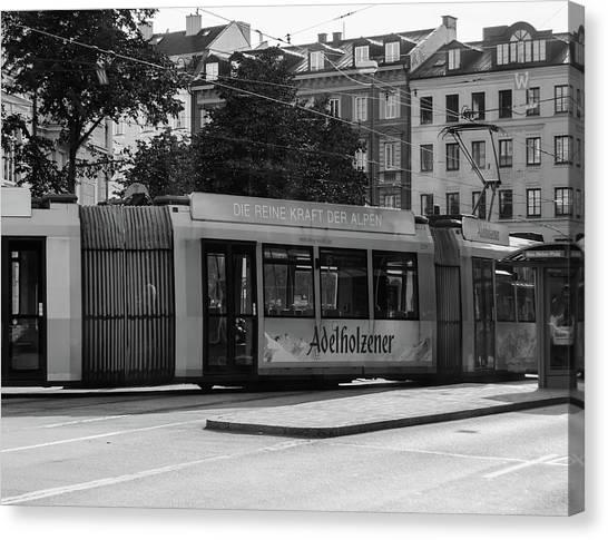 Day Tram Train Canvas Print