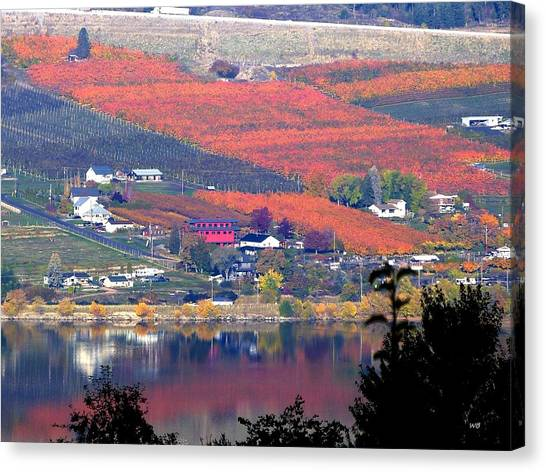 Oyama Canvas Print - Days Of Autumn 19 by Will Borden