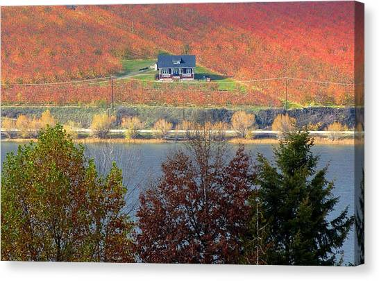 Oyama Canvas Print - Days Of Autumn 26 by Will Borden