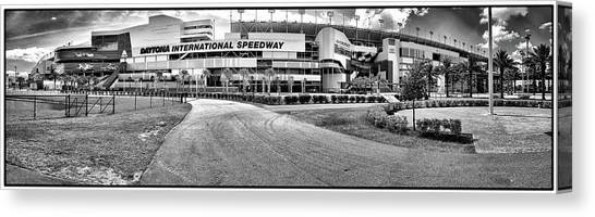 Daytona 500 Canvas Print - Daytona International Speedway by Louis Ferreira
