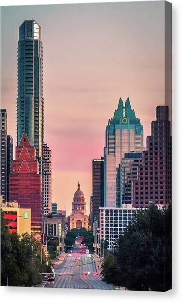 Austin Texas Canvas Print - Dead On by Slow Fuse Photography