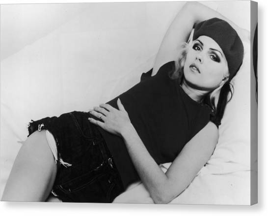 Deborah Harry Canvas Print by Hulton Archive