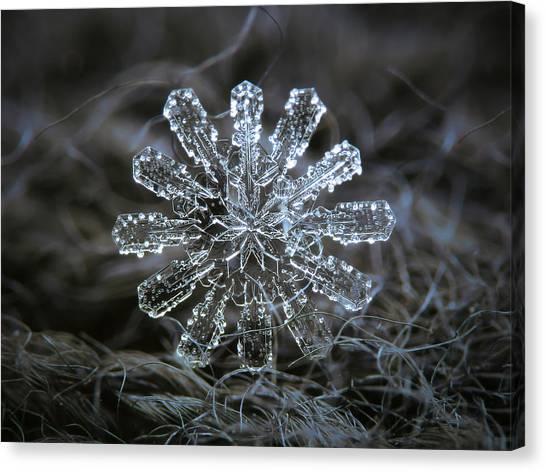 December 18 2015 - Snowflake 3 Canvas Print