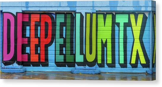 Deep Ellum Wall Art Canvas Print