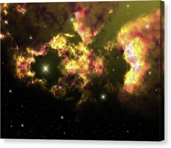 Deep Space Clouds 2 Canvas Print