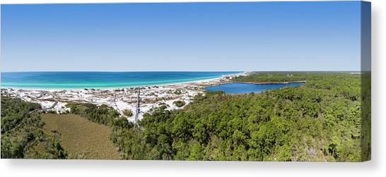 Deer Lake State Park Panorama Canvas Print