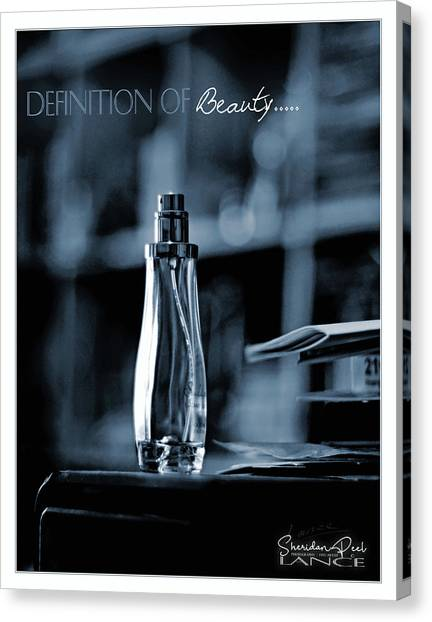 Definition Of Beauty Canvas Print