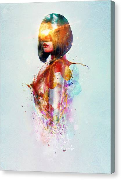 Presents Canvas Print - Deja Vu by Mario Sanchez Nevado