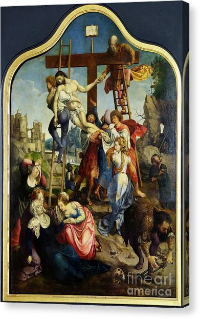 State Hermitage Canvas Print - Descent From The Cross by Peter Barritt