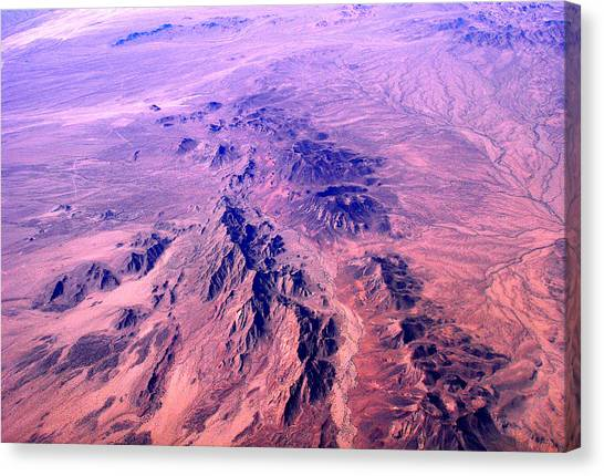 Desert Of Arizona Canvas Print