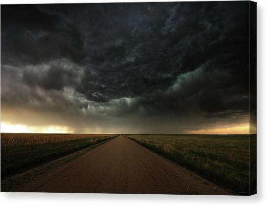 Desolation Road Canvas Print