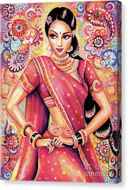 Devika Dance Canvas Print