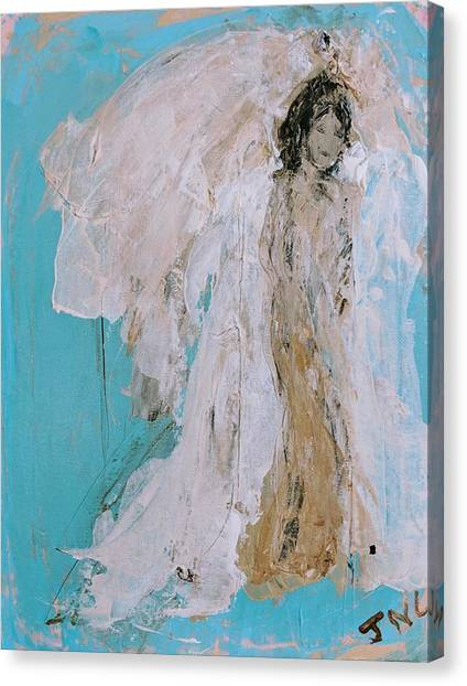Devine Angel Canvas Print