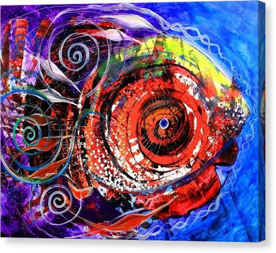 Diabla Grande Canvas Print
