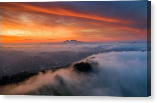Diablo Rising Canvas Print by Vincent James