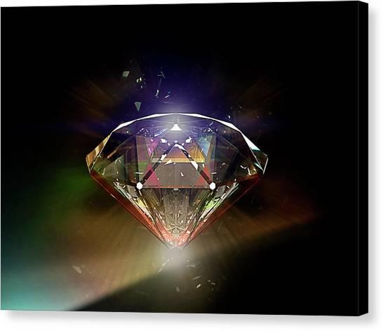 Diamond 02 Canvas Print