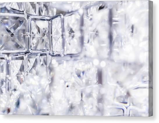 Diamond Shine I Canvas Print