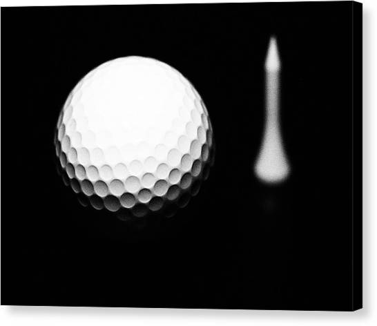 Fast Ball Canvas Print - Dimples by Tom Druin