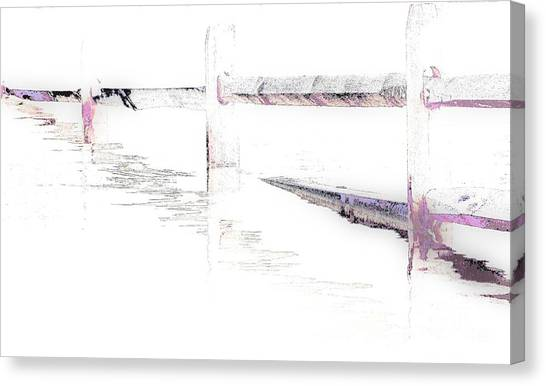 Disappearing Fence Canvas Print