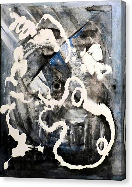 Dismantling Canvas Print