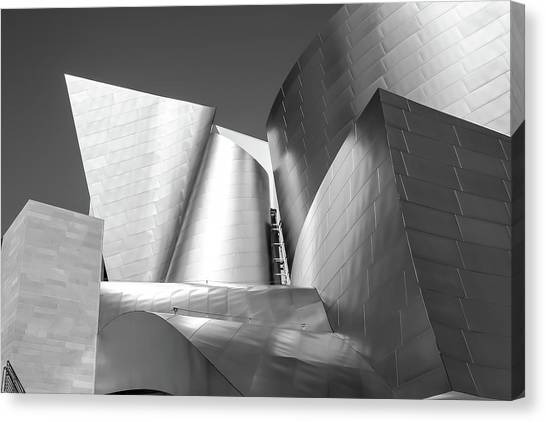 Disney_concert_hall Canvas Print