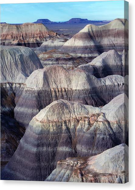 Petrified Forest Canvas Print - Distant Mesa by Joseph Smith