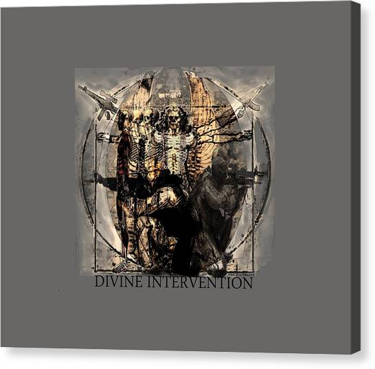 Todd Krasovetz Canvas Print - Divine Intervention by Todd Krasovetz