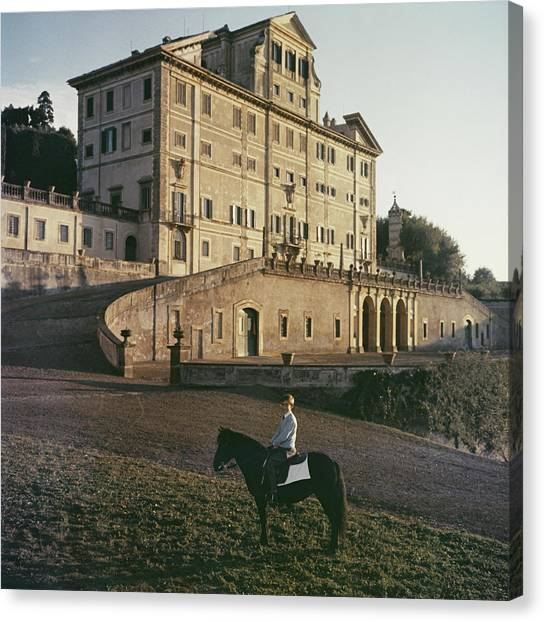 Don Giovanni Canvas Print by Slim Aarons