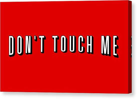 Nets Canvas Print - Don't Touch Me And Chill by Ludwig Van Bacon