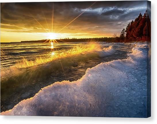 Door County Sunset Canvas Print