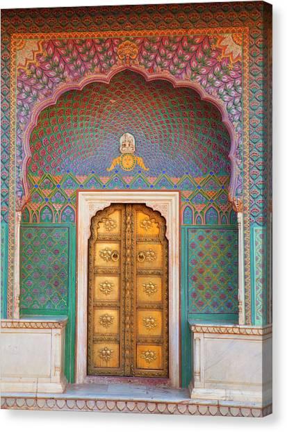 Doorway Canvas Print by Grant Faint