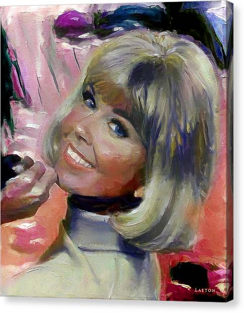 Doris Day Canvas Print