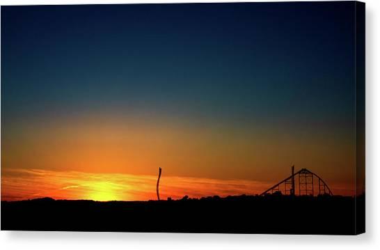 Dorney Park Sunset Canvas Print