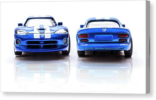Automotive Art Canvas Print - Double The Sting by Jorgo Photography - Wall Art Gallery