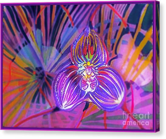 Canvas Print - Draculas Orchid by Mindy Newman