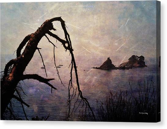 Canvas Print featuring the photograph Drama At Sunset by Randi Grace Nilsberg