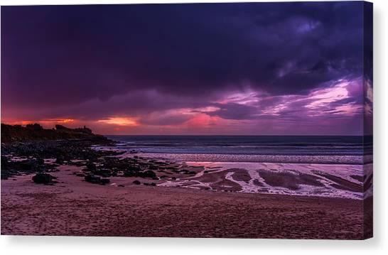 Dramatic Sky At Porthmeor Canvas Print