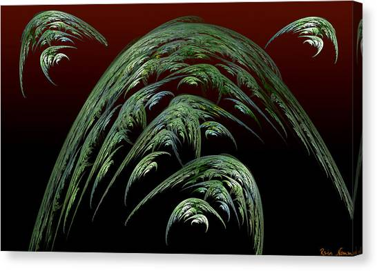 Dread Full Canvas Print