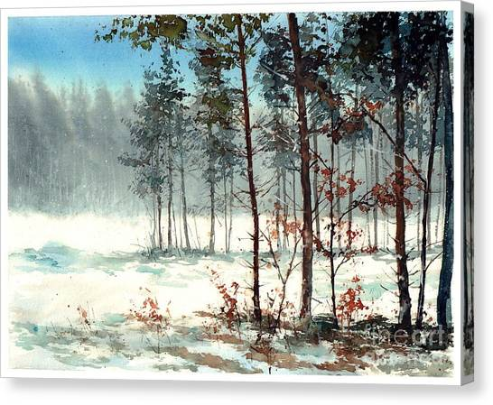 Sympathy Canvas Print - Dreaming Forest by Suzann Sines