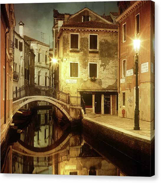 Dreaming Venice Canvas Print