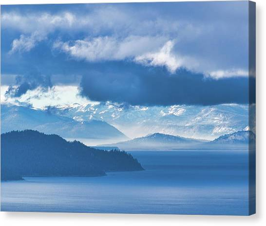 Dreamy Kind Of Blue Canvas Print
