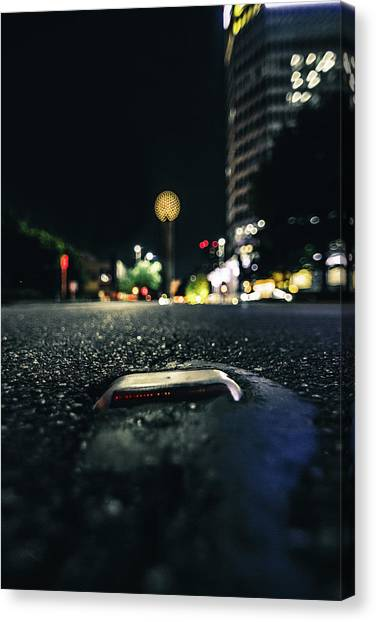 Dropped Pin Canvas Print