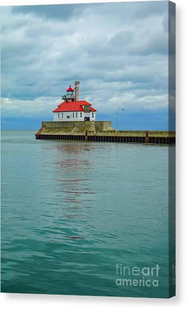 Duluth Lighthouse 2 Canvas Print