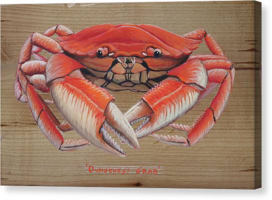 Dungeness Crab Canvas Print